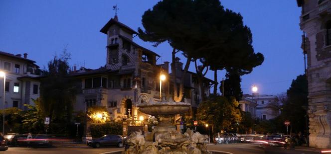 Il Quartiere Coppedè: una fantasiosa isola architettonica immersa in un'atmosfera teatrale e sfarzosa tra i quartieri Salario, Parioli e Trieste