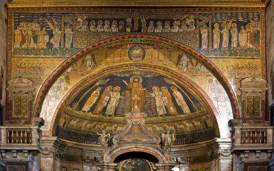 """""""L'Arte Musiva a confronto:"""" Le Basiliche di  SANTA PRASSEDE   e SANTA PUDENZIANA con i loro mosaici"""